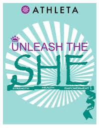 Unleash the She logo